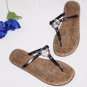 MICHAEL Michael Kors MK Charm Jelly Thong Sandals